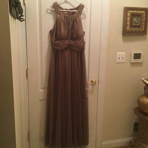 David's Bridal Evening dress
